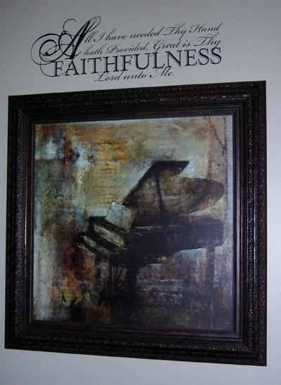 Faithfulness Wall Decals