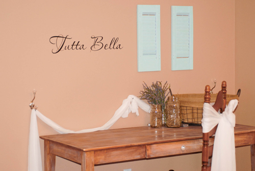 Tutta Bella Wall Decal