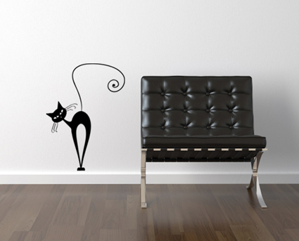 Cattitude 3 Wall Decal