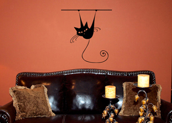 Hanging Around | Wall Decals
