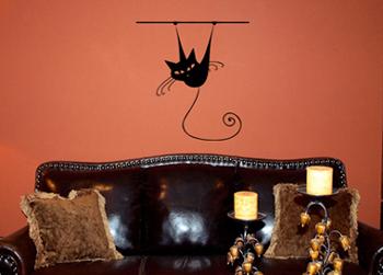 Hanging Around | Wall Decals