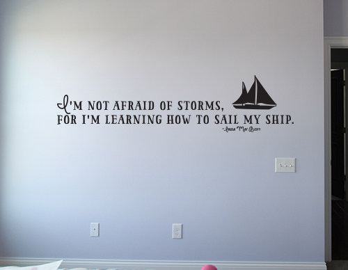 Sail My Ship Decal