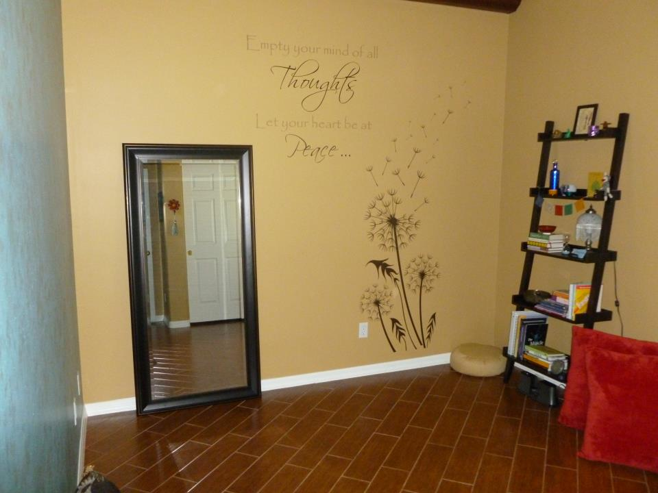 Empty your mind Wall Decals