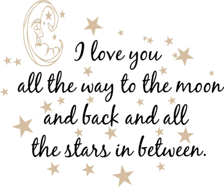 All The Stars In Between | Wall Decals