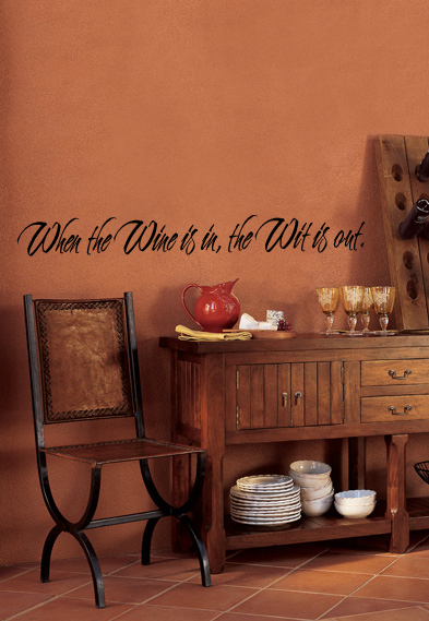 Wine Wit Wall Decal