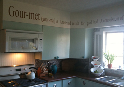 Gourmet Definition | Wall Decals