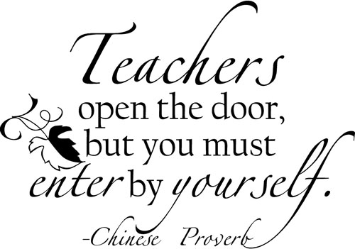 Teachers Open The Door | Wall Decals