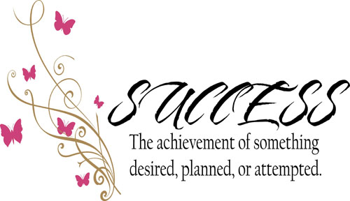 Success Definition | Wall Decals