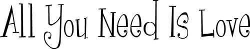 All You Need | Wall Decals