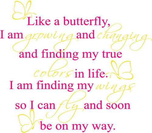 Like A Butterfly | Wall Decals