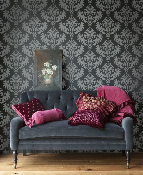 Damask Grouping Wall Decal