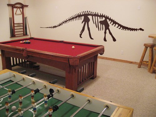 Brontosaurus Skeleton Wall Decal