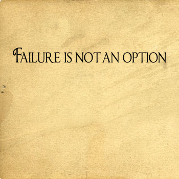 Failure Not Option | Wall Decals