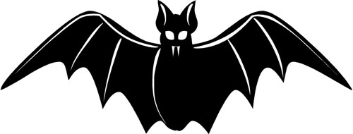 Scary Bat | Halloween Decals