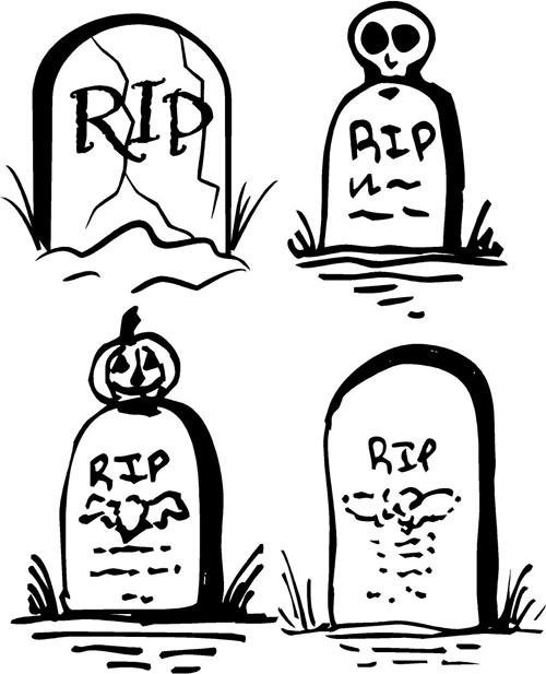 Gravestones | Halloween Decals