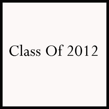 Class Of Year Wall Decals
