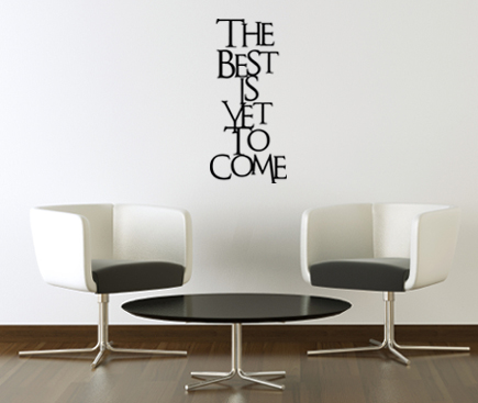 The Best | Wall Decals