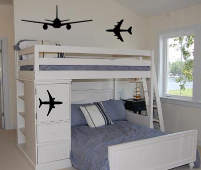 Airplane Pack Wall Decal
