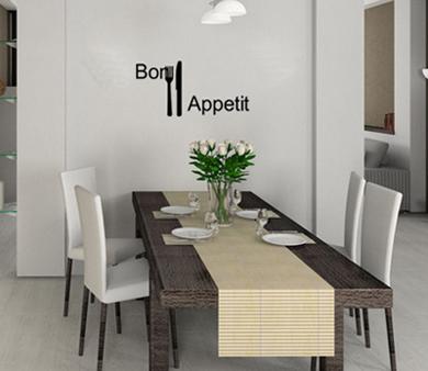 Bon Appetit Wall Decal
