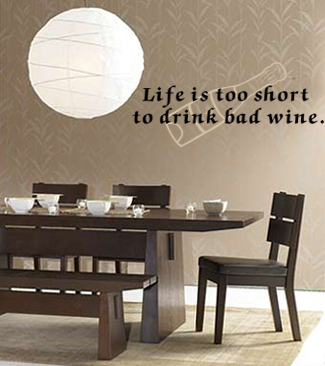 Life Too Short | Wall Decals