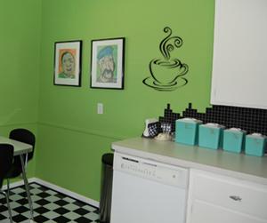Coffee Mug Wall Decal