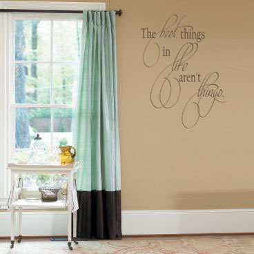 Best Things In Life Wall Decal