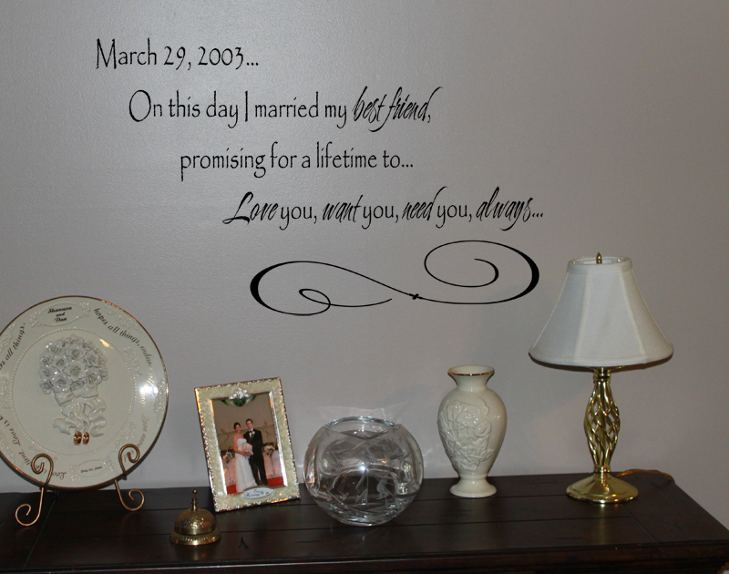 On This Day Wall Decal