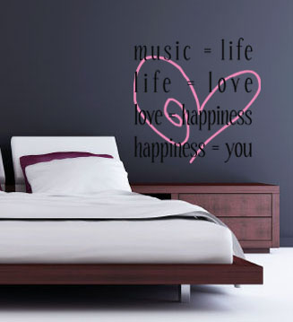 Equals Wall Decal