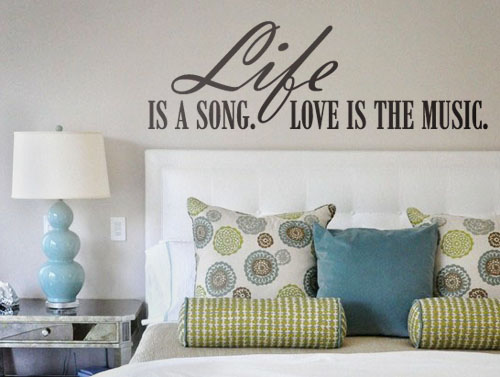 Life is a Song Wall Decal