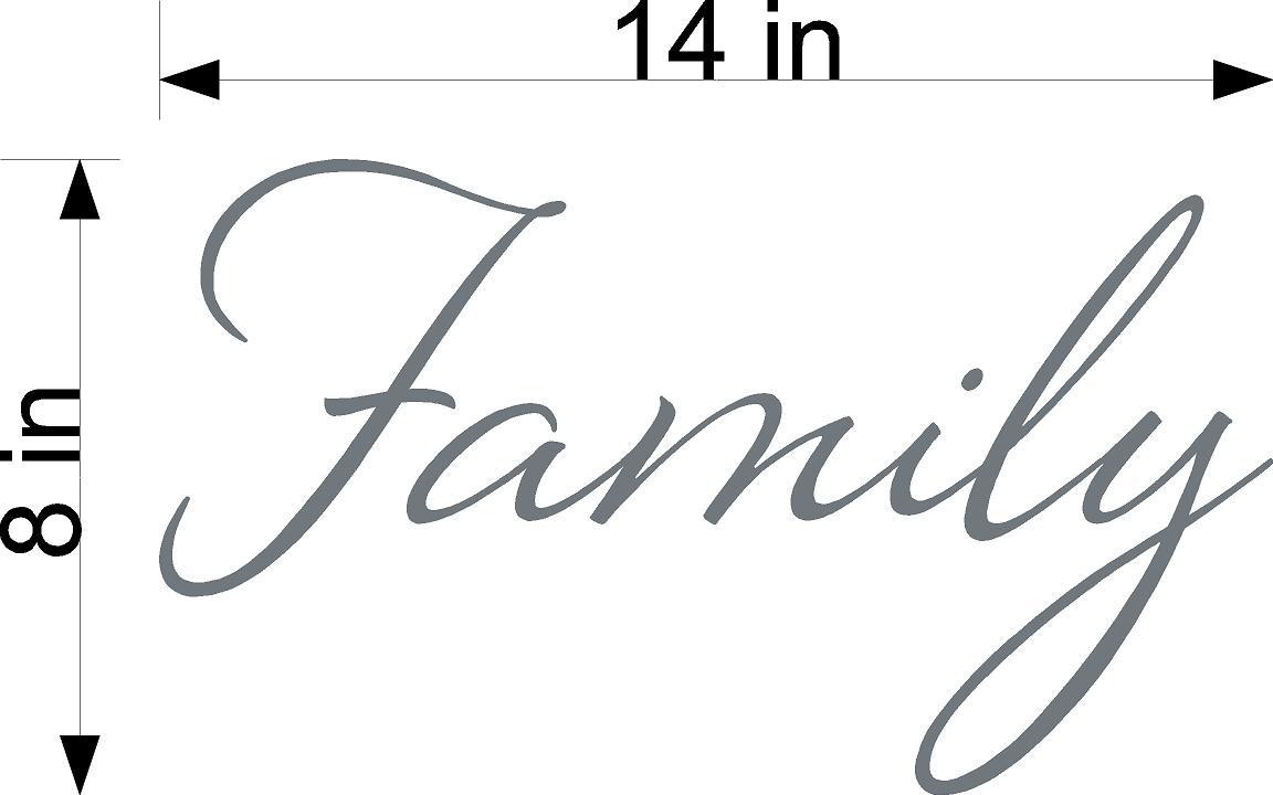 Family Custom Decal
