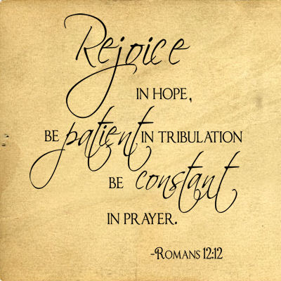 Rejoice In Hope Wall Decals