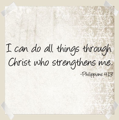 Do All Things Through Christ Wall Decals