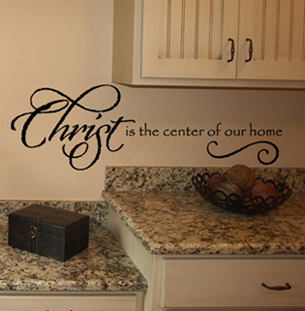 Christ Center Wall Decals