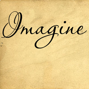 Simply Words Imagine | Wall Decals