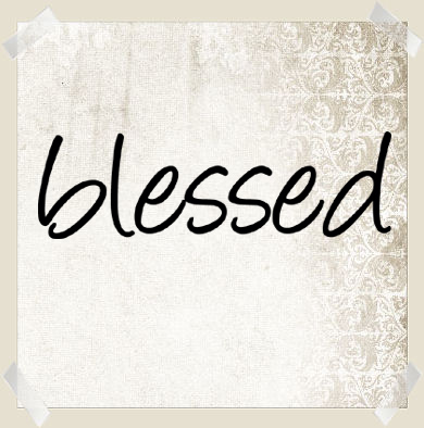 Simply Words Blessed | Wall Decals