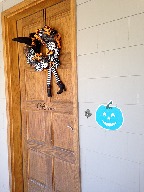 Allergy Friendly Pumpkin Printed Decal