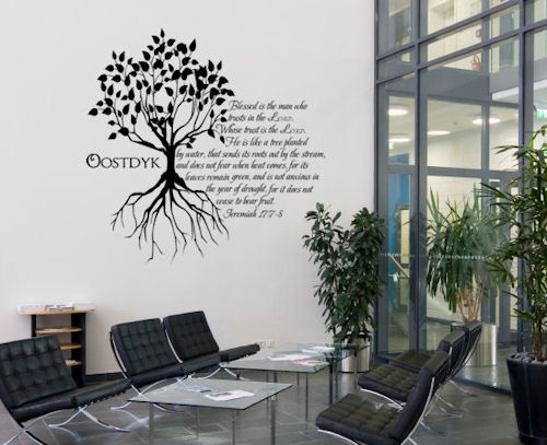 Jeremiah Tree Wall Decals