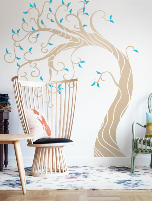 Slim Willow Decal