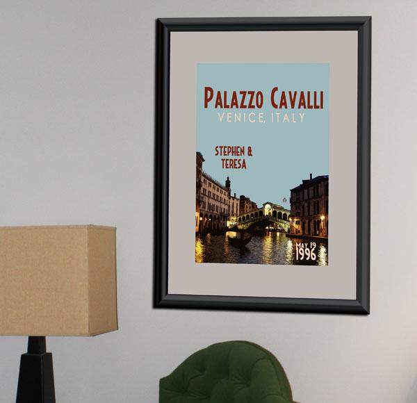 Venice Wedding Print