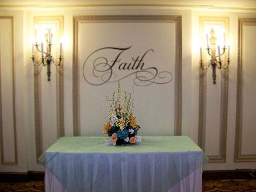 Simply Words Faith Wall Decals