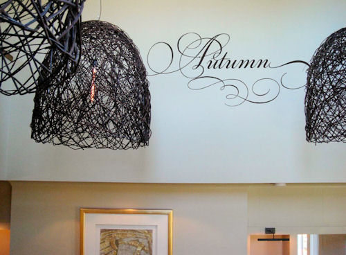 Simply Words | Autumn | Wall Decals
