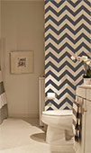 Chevron Wall Runner Decal