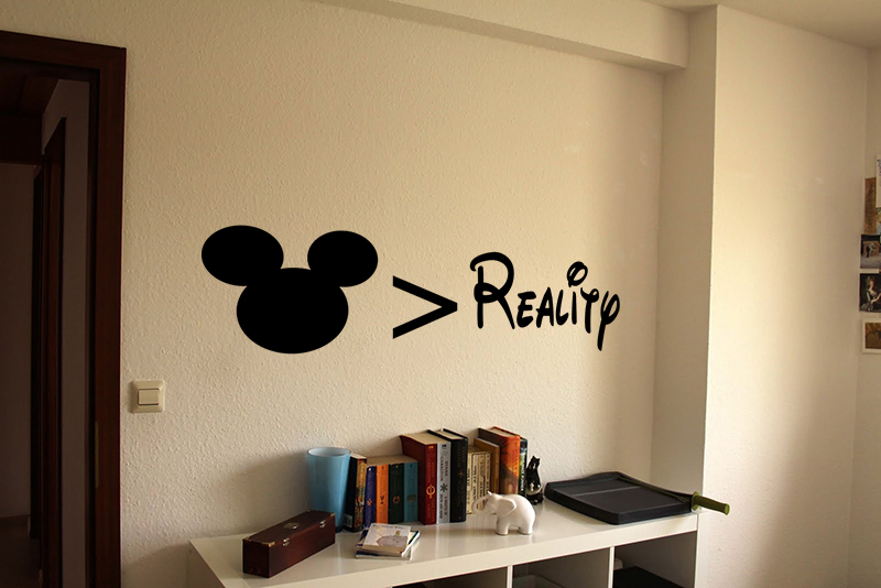 Childhood Over Reality Decal