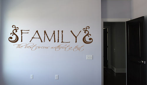 Family Circus Without Tent Wall Decals