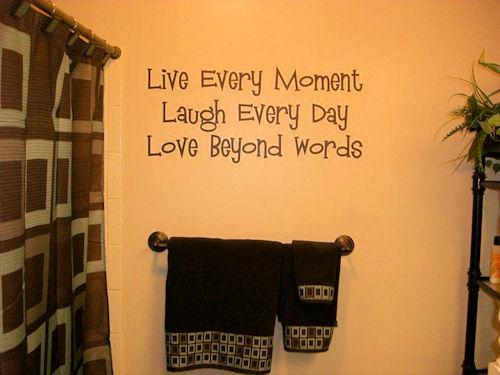 Live Laugh Love Mandingo Wall Decal