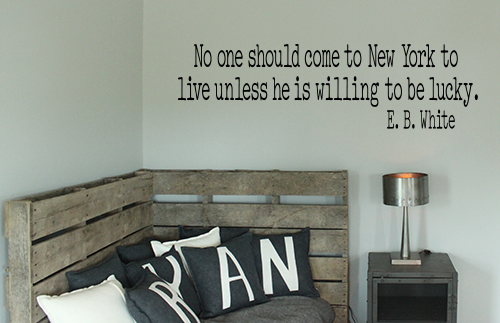 Come To New York Wall Decal