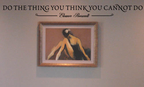 Do the Thing Wall Decals