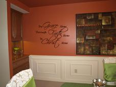 By Grace Through Faith In Christ Wall Decal