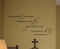 Moment To Fly Wall Decal