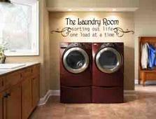 The Laundry Room Wall Decal